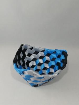 """3/8"""" Satin ribbon 5.5"""" X 3"""" $80 #PT100"""