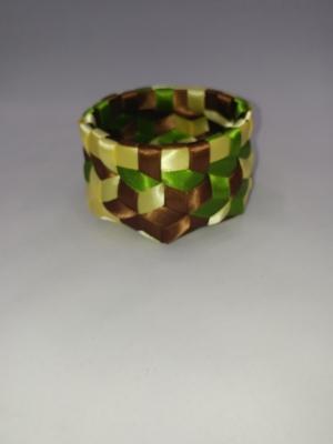 """3/8"""" Satin ribbon 3.25"""" X 2"""" $50 #PT111"""