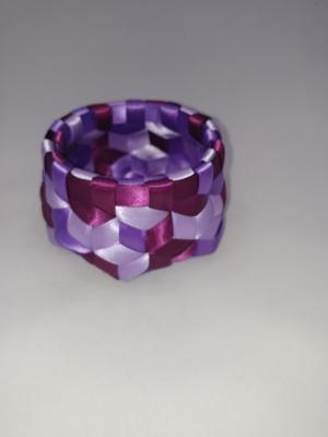 """3/8"""" Satin ribbon 3.75"""" X 2"""" $50 #PT113"""