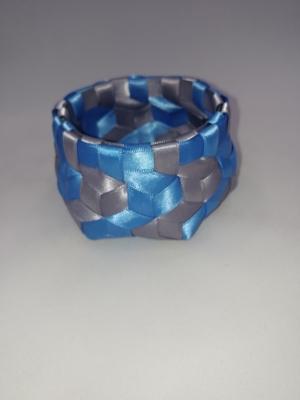 """3/8"""" Satin ribbon 3.75"""" X 2.25"""" $50 #PT120"""