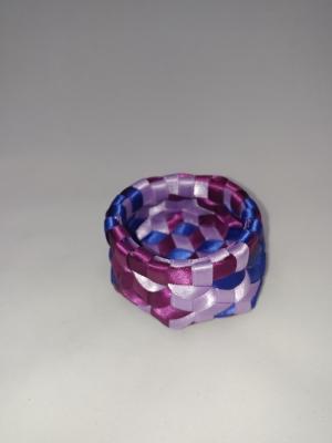 """1/4"""" Satin ribbon 2.5"""" X 1.25"""" $50 #PT125"""