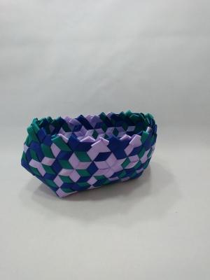 "3/8"" satin ribbon 8"" X 4.5"" X 3.75"" $75 #PT81"