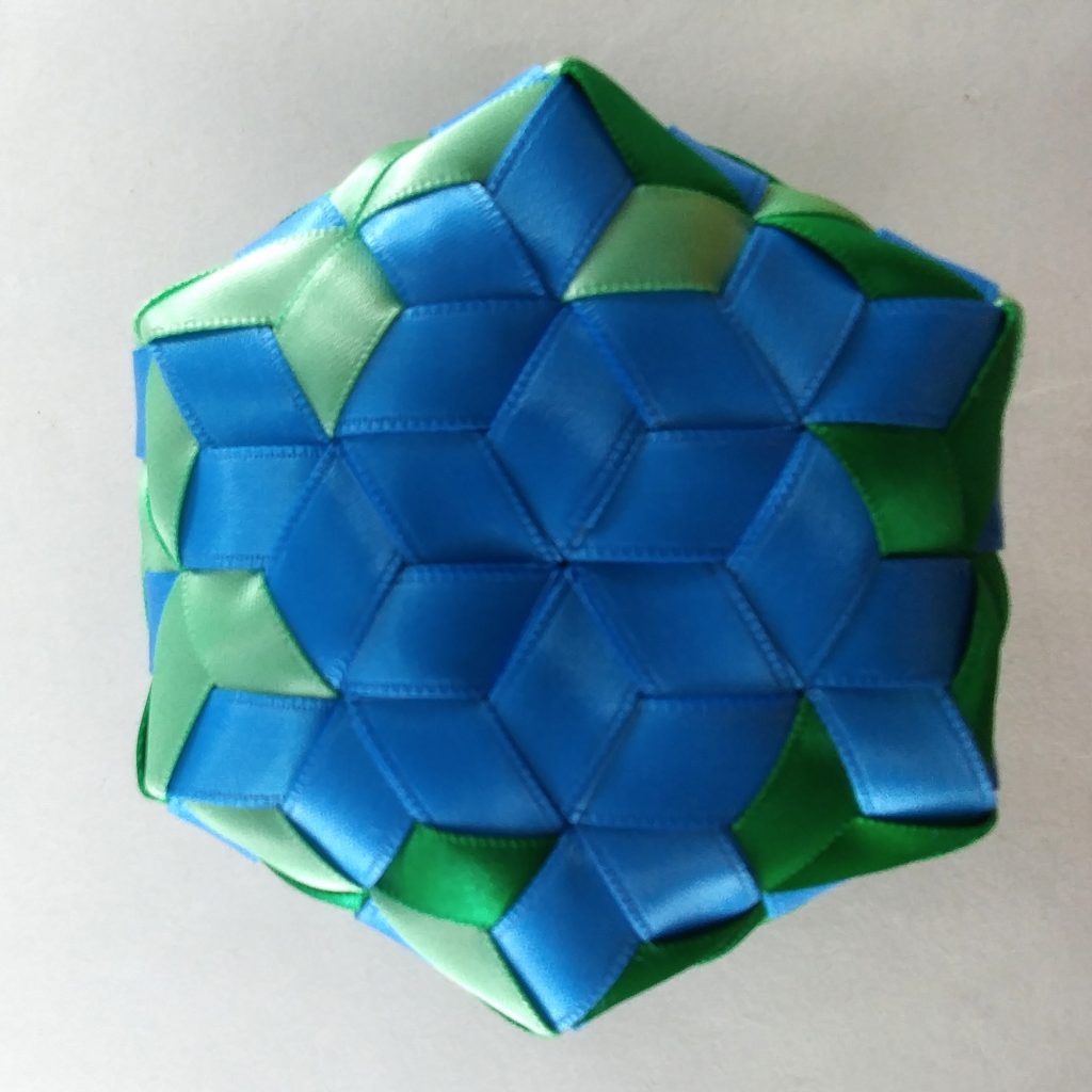 Bottom of Hexagon Madweave Basket