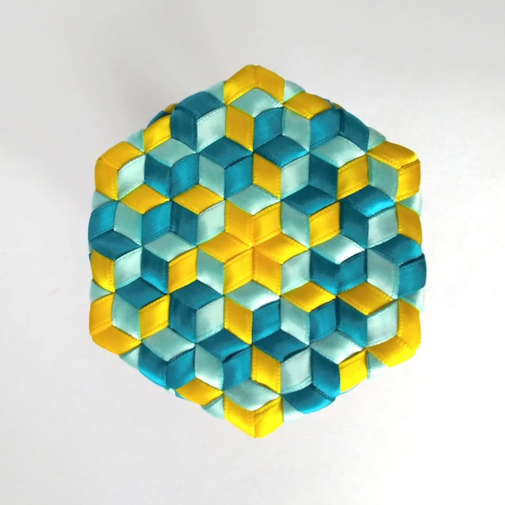 Bottom of Hexagon Madweave Basket with base